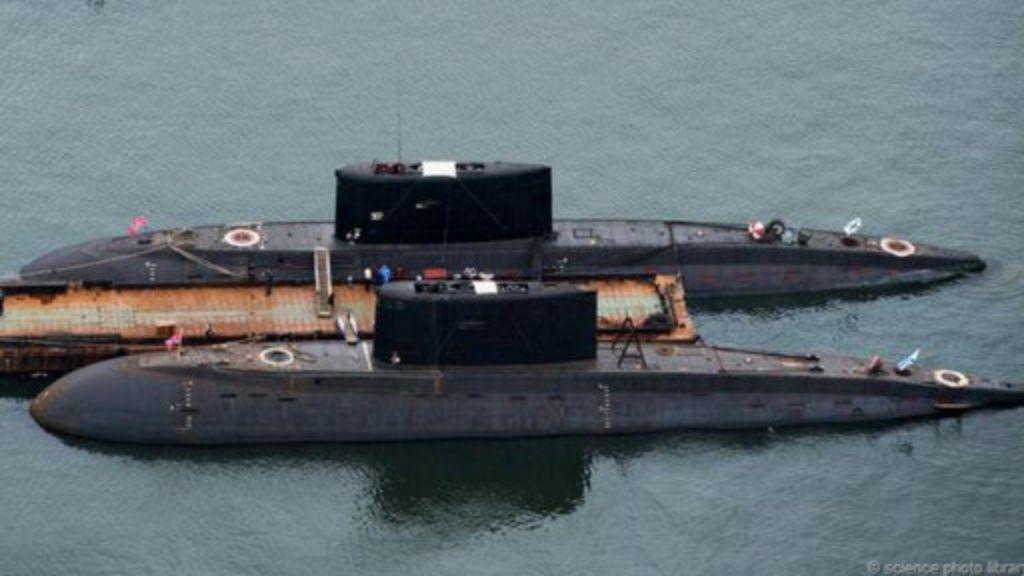 老舊核潛艇的葬身之所 - BBC 主頁