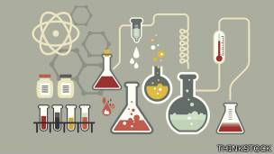 Tubos de ensayo y envases de laboratorio