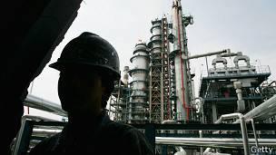 Refinería china