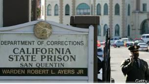 Entrada de la prisión de San Quintín