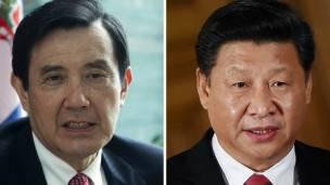 Ma Ying-jeou y Xi Jingping