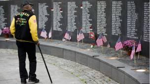 Monumento a los caídos en la guerra de Vietnam.