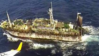 Barco chino hundido por Argentina