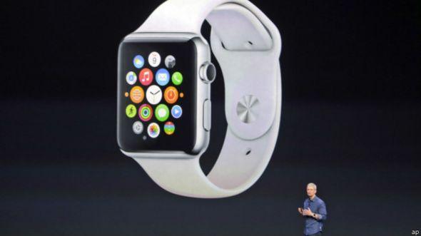 Primer reloj inteligente de Apple