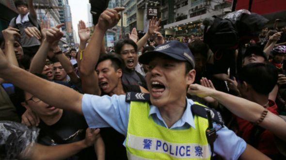Biểu tình ở Hong Kong