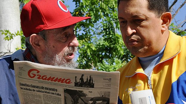 La política definitoria de la era Chávez-Fidel fue el programa de 'petróleo por doctores'.