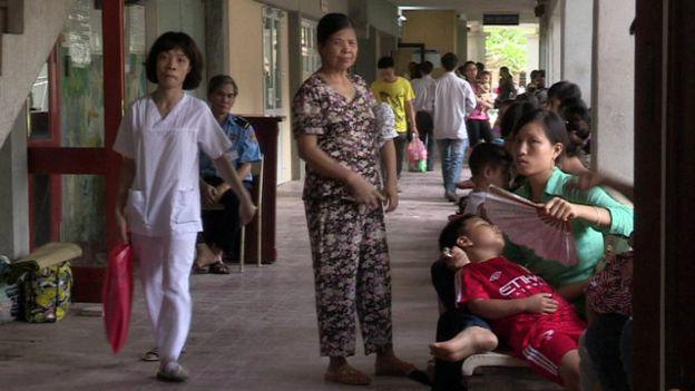 Bệnh nhân tại bệnh viện ở Hà Nội (Ảnh minh họa)
