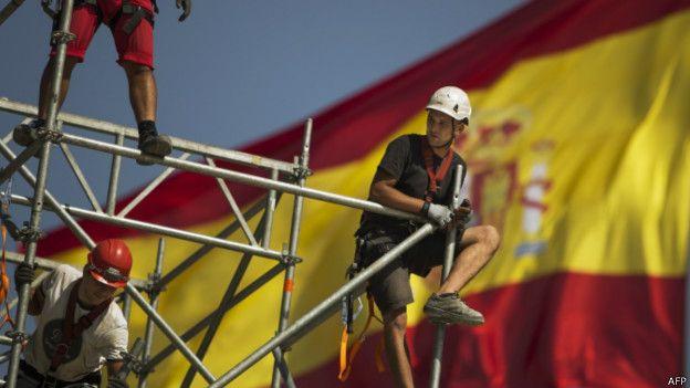 Trabajador de la construcción en España