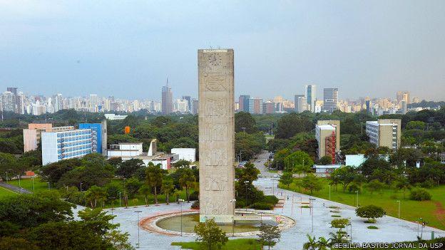 Campus de la Universidad de São Paulo.
