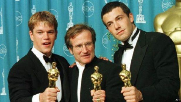 Matt Damon, Robin Williams, Ben Affleck