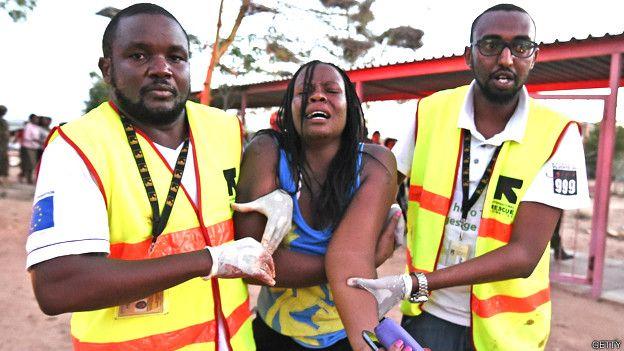 Estudiante herida en el ataque de Al Shabab en la Universidad de Garissa en Kenia