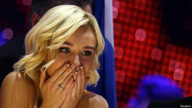 Российская певица Полина Гагарина
