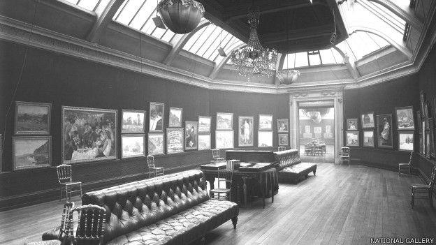 Grafton Gallery en 1905