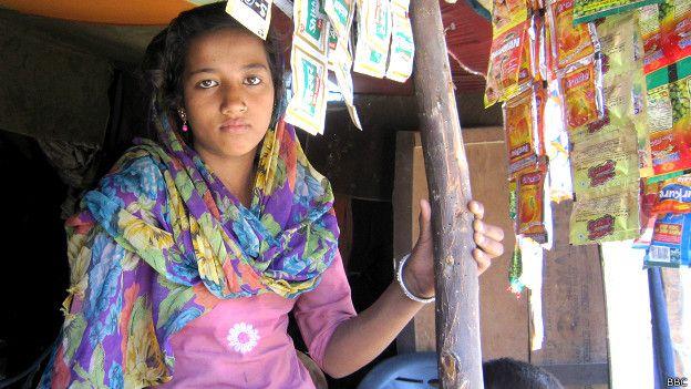 भारत में रहने वाली रोहिंग्या मुस्लम लड़की साजिदा