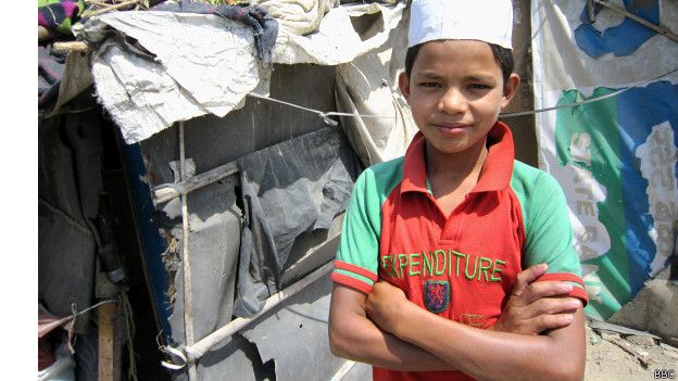 रोहिंग्या मुस्लिम लड़का, दिल्ली, भारत