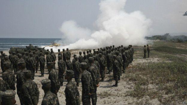 Hải quân Mỹ và Philippines diễn tập quân sự tại Scarborough
