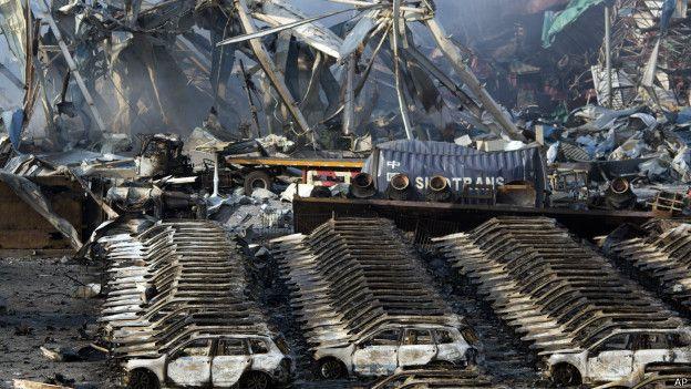 Explosiones en Tianjin, China