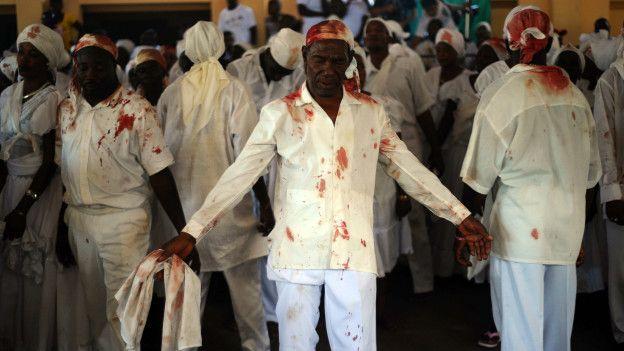 Una ceremonia vudú en Haití