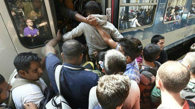 歐洲難民潮:各國政府面對問題左右為難 - BBC 中文網