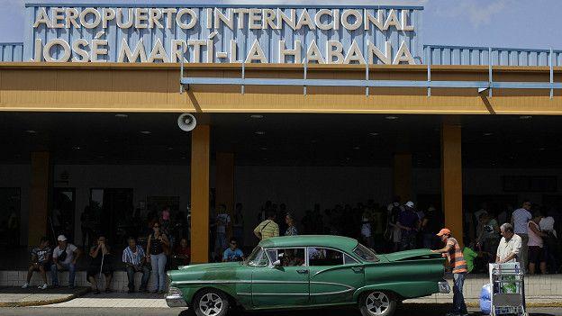 El aeropuerto internacional José Martí