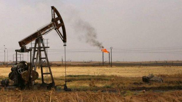 Campos de petróleo en Siria