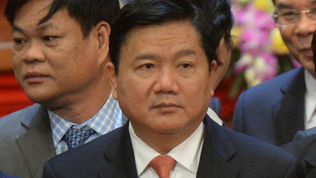 Chủ tịch thành phố Hồ Chí Minh (Sài Gòn), ông Đinh La Thăng
