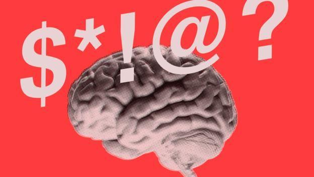 Küfürün beynin çok daha eski ve ilkel bir bölümüyle ilgili olabileceği belirtiliyor.