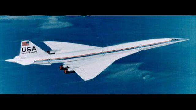 Un modelo de Concorde