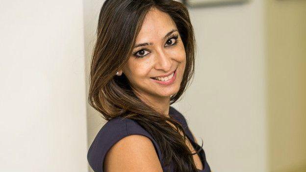 Anjali Mahto, de la Fundacion Britanica de la Piel