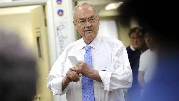 Wofford, durante la campaña a favor de Obama en 2008.