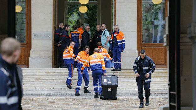 Servicios de urgencia en París