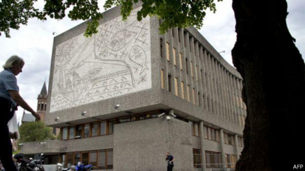 Foto: Escritório do governo, em Oslo | Foto: AFP