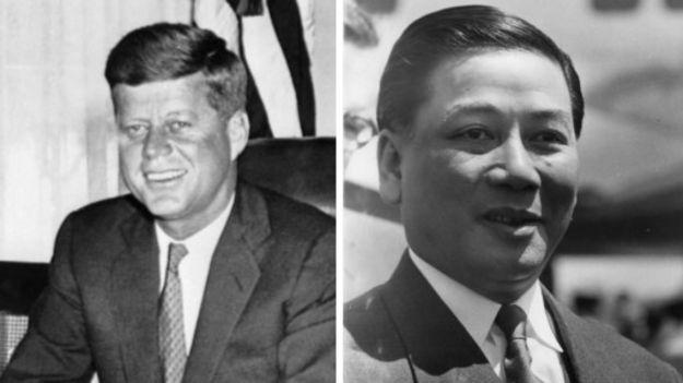 Ông Diệm về sau này bị ám sát dưới thời Tổng thống Kennedy, người sau đó cũng bị ám sát