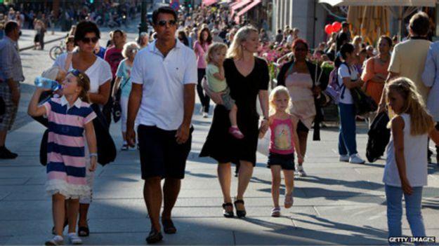 Pessoas em Oslo | Foto: Getty