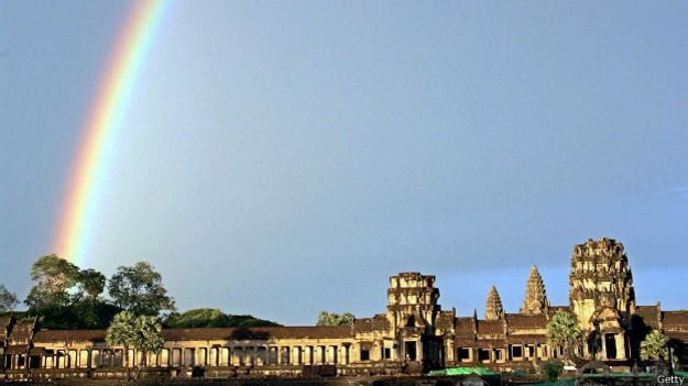 Angkor arcoiris