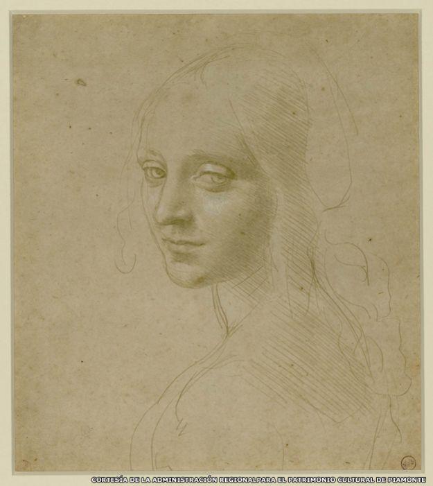 Retrato de una chica, de Leonardo da Vinci
