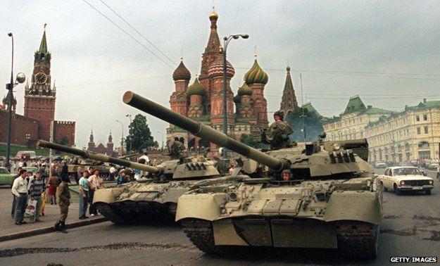 Golpe de Agosto Rusia