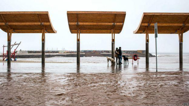 Inundaciones en Antofagasta