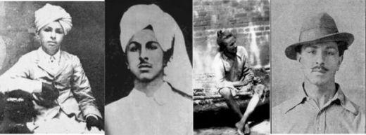 भगत सिंह की वास्तविक तस्वीरें