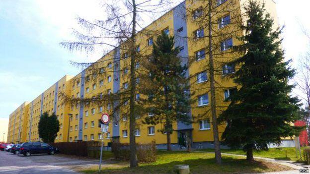 El edificio de apartamentos donde vivía la familia Putin en Dresde