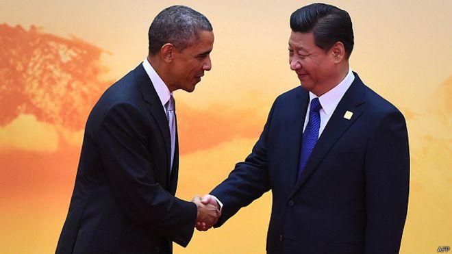 Barack Obama y Xi Jinping