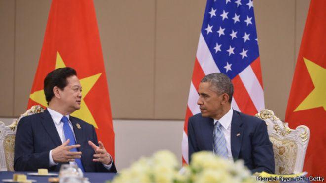 Lãnh đạo Việt Nam - Hoa Kỳ