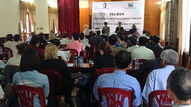 Một cuộc tọa đàm về nhân quyền tại Việt Nam