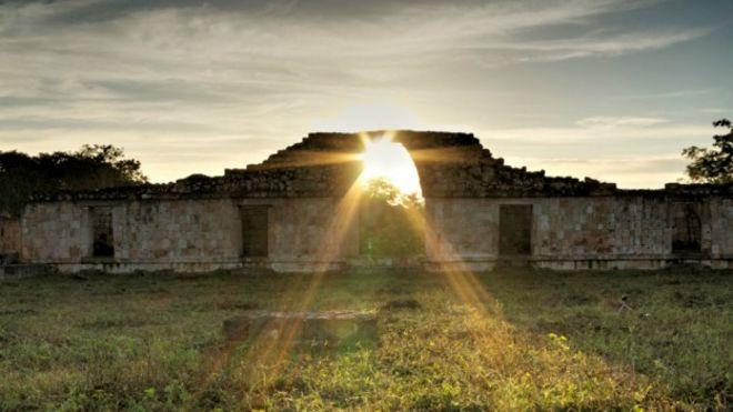 Equinoccio en Oxkintoc, Yucatán, México