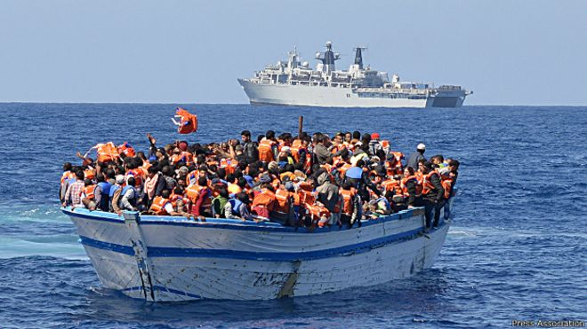 italia, inmigrantes, mediterraneo, guardia costera