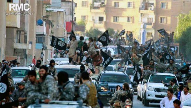 Rakka'da artık IŞİD hakim.