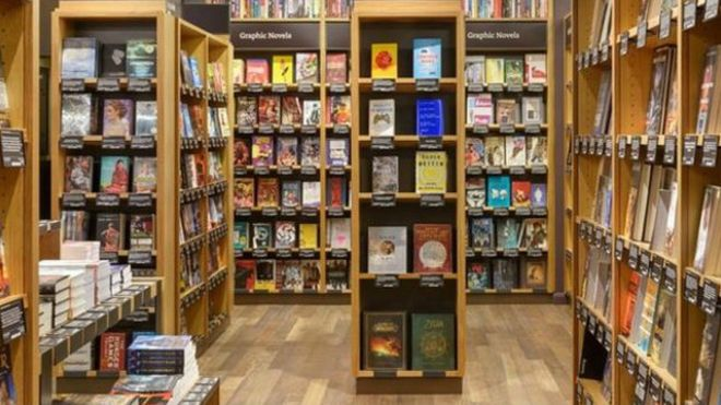 Amazon abra una librería física en Seattle