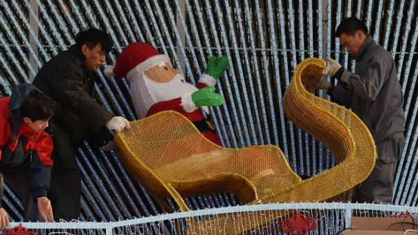 Retiran a Papá Noel