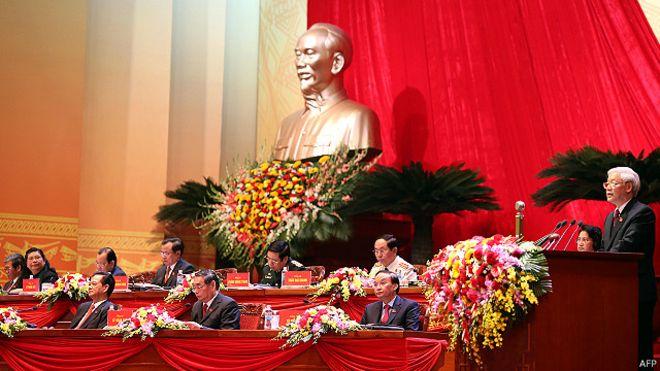 Đại hội 12 Đảng CSVN khai mạc