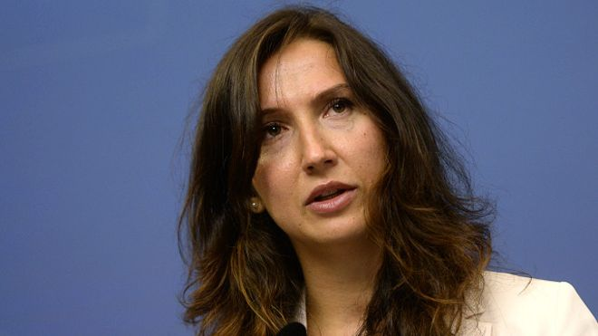 Bộ trưởng Thụy Điển Aida Hadzialic